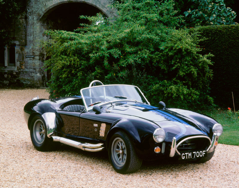 A 1965 AC Shelby Cobra 427 sports car
