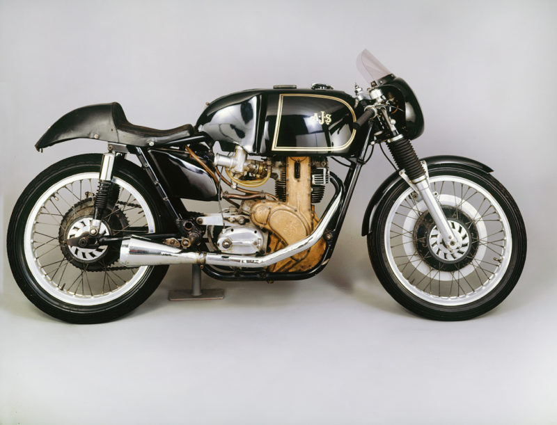 A 1958 AJS 7R motorcycle