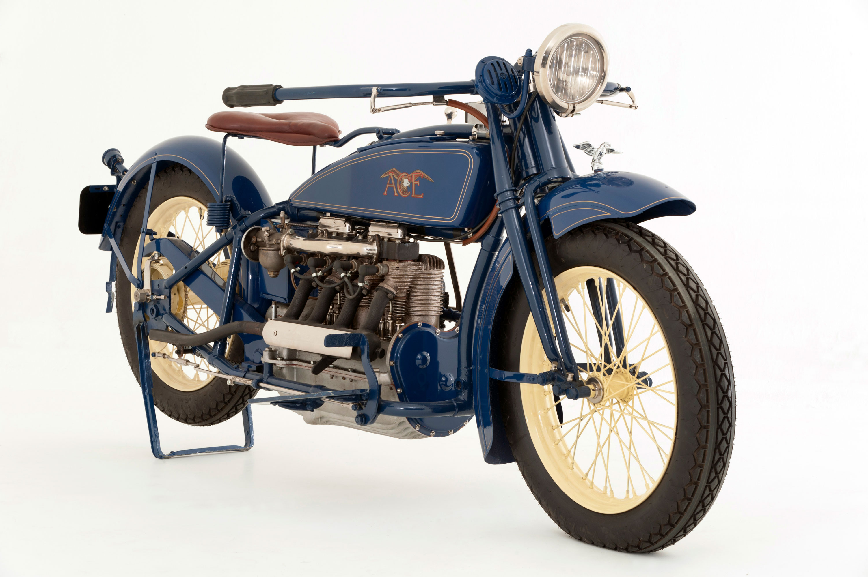 A 1923 Ace vintage motorcycle