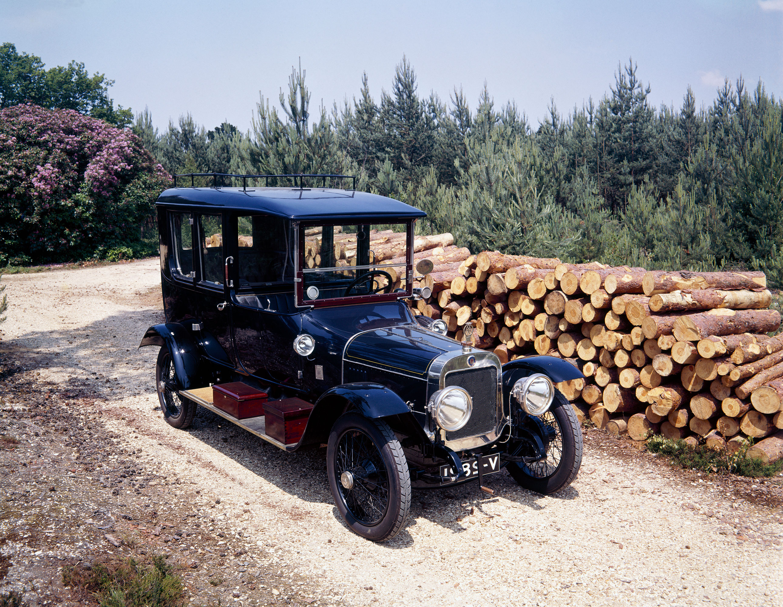 A 1913 Argyll 15/30hp Edwardian car