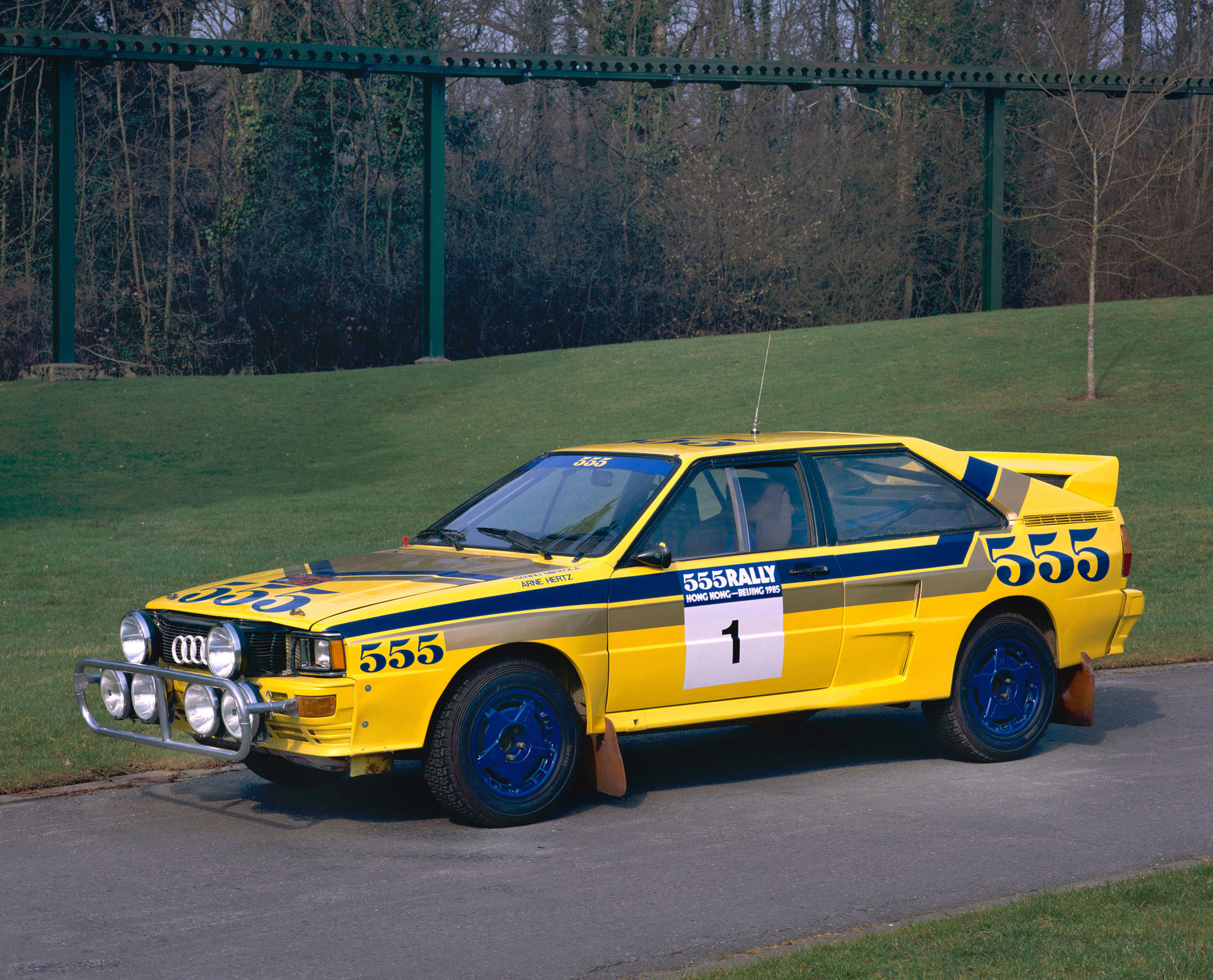 audi quattro a2 rally car the national motor museum trust. Black Bedroom Furniture Sets. Home Design Ideas