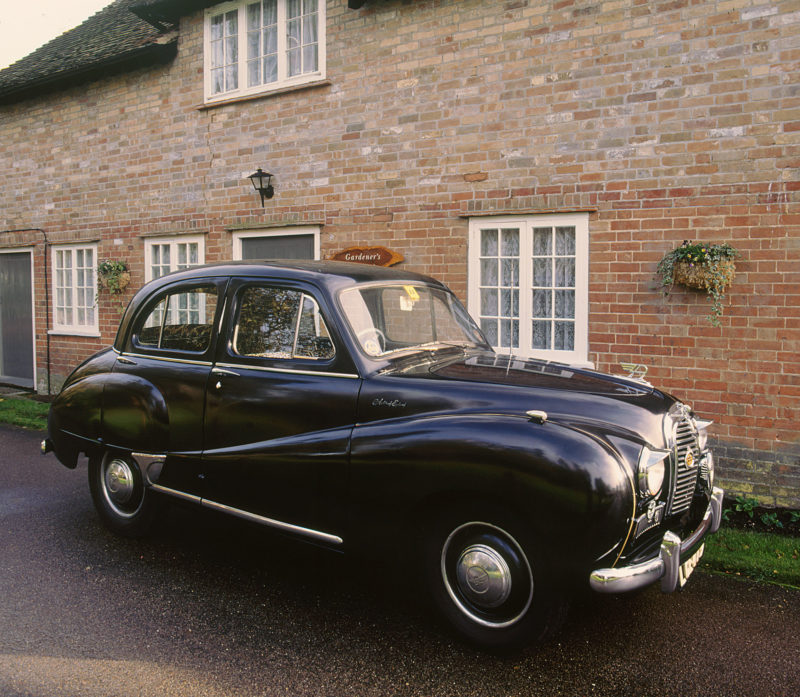 A 1953 Austin A40 Somerset