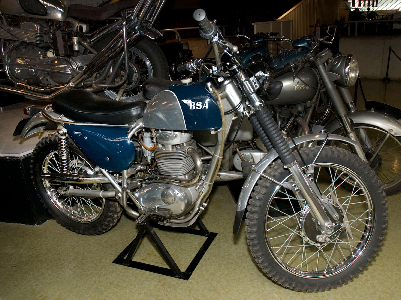 1967 BSA Victor Grand Prix Works Scrambler