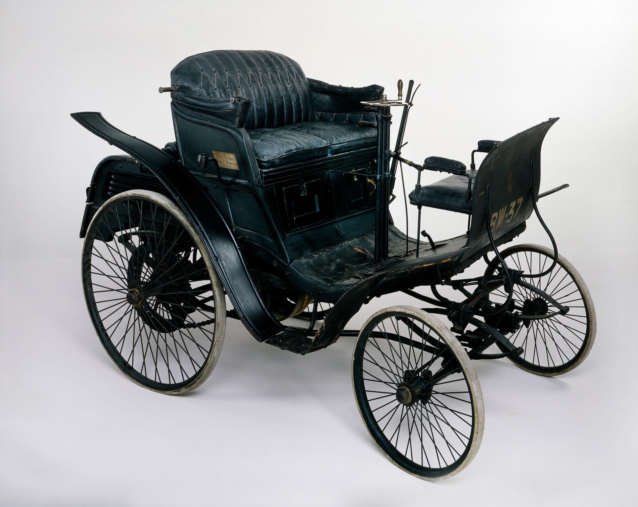 An 1898 Benz Velo veteran car