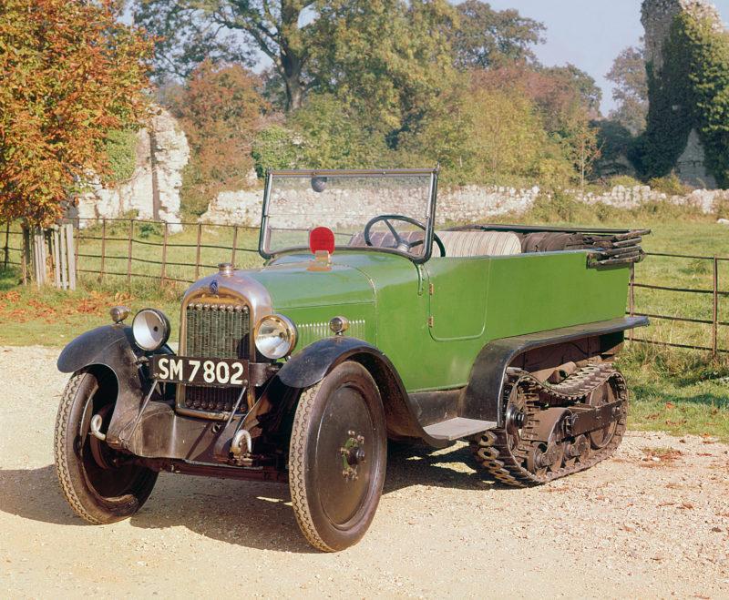 A 1926 Citroën Kegresse vintage car
