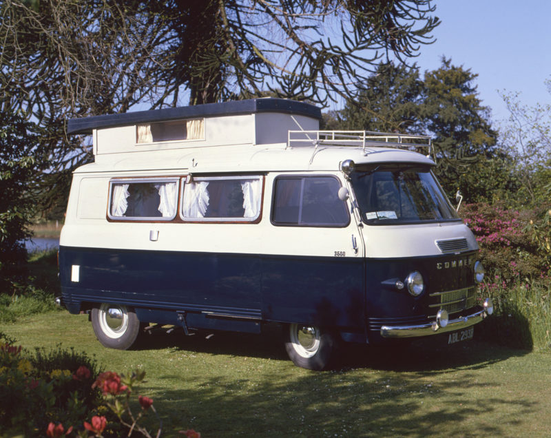 A 1964 Commer Auto-sleeper motor caravan
