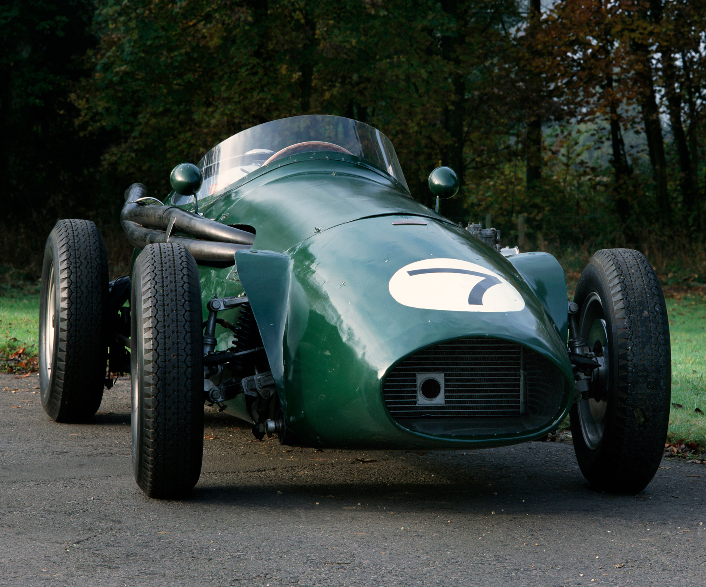 1955 Connaught B-Type Formula One car
