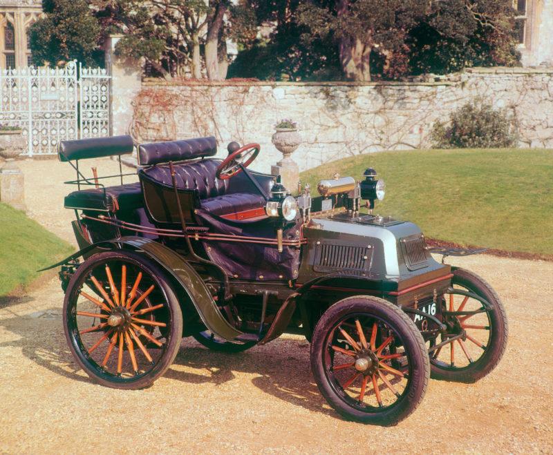 A 1899 Daimler 12hp veteran car