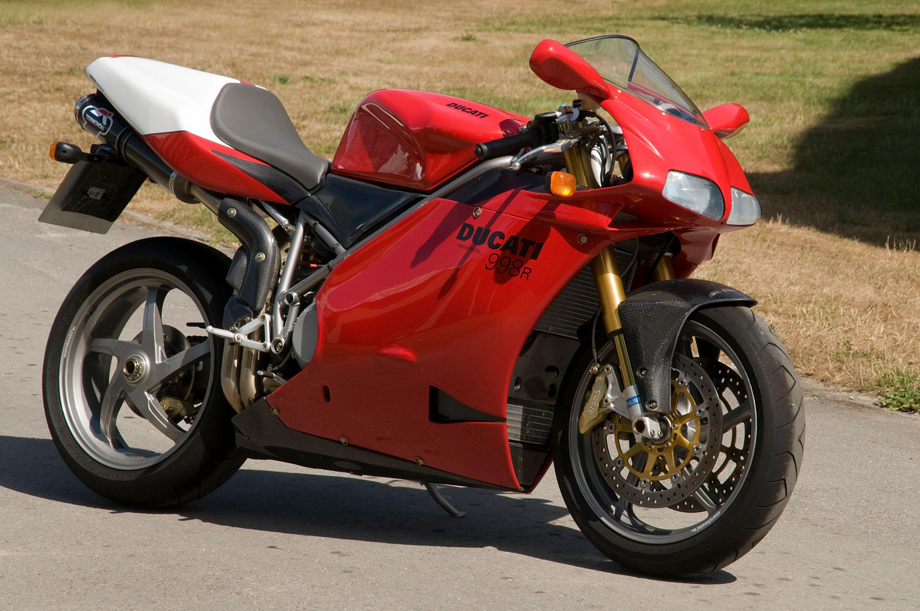 Ducati 998R - The National Motor Museum Trust