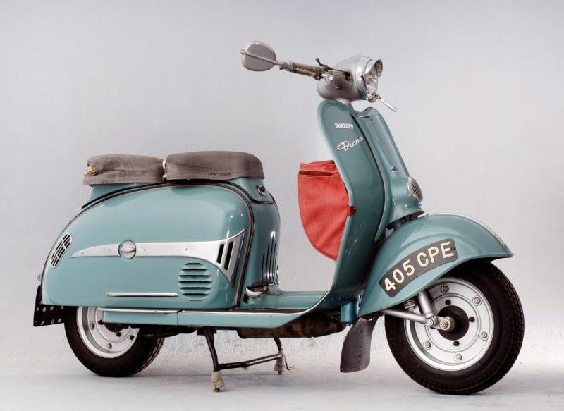 A 1957 Dürkopp Diana scooter