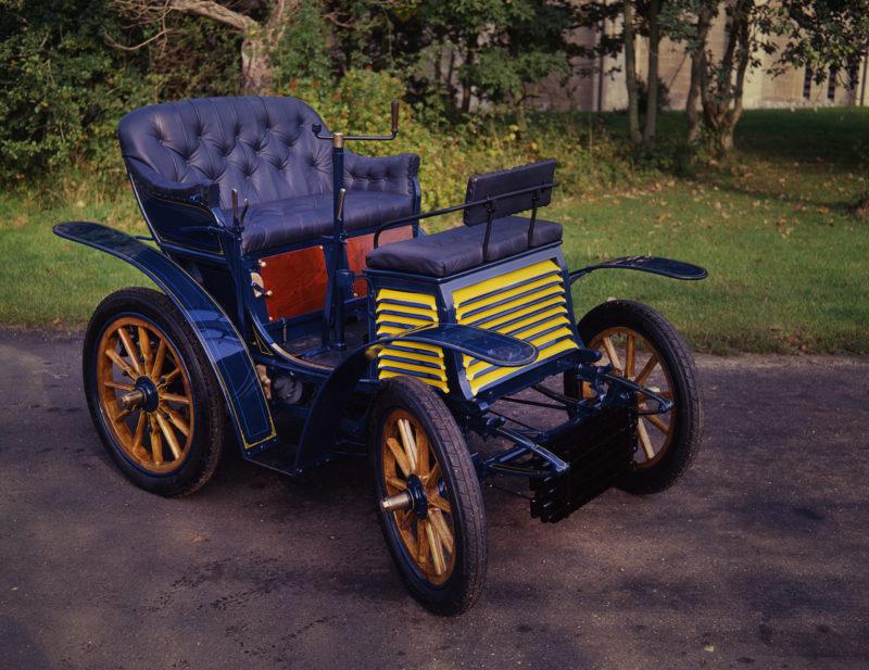 An 1899 Fiat 3.5hp veteran car