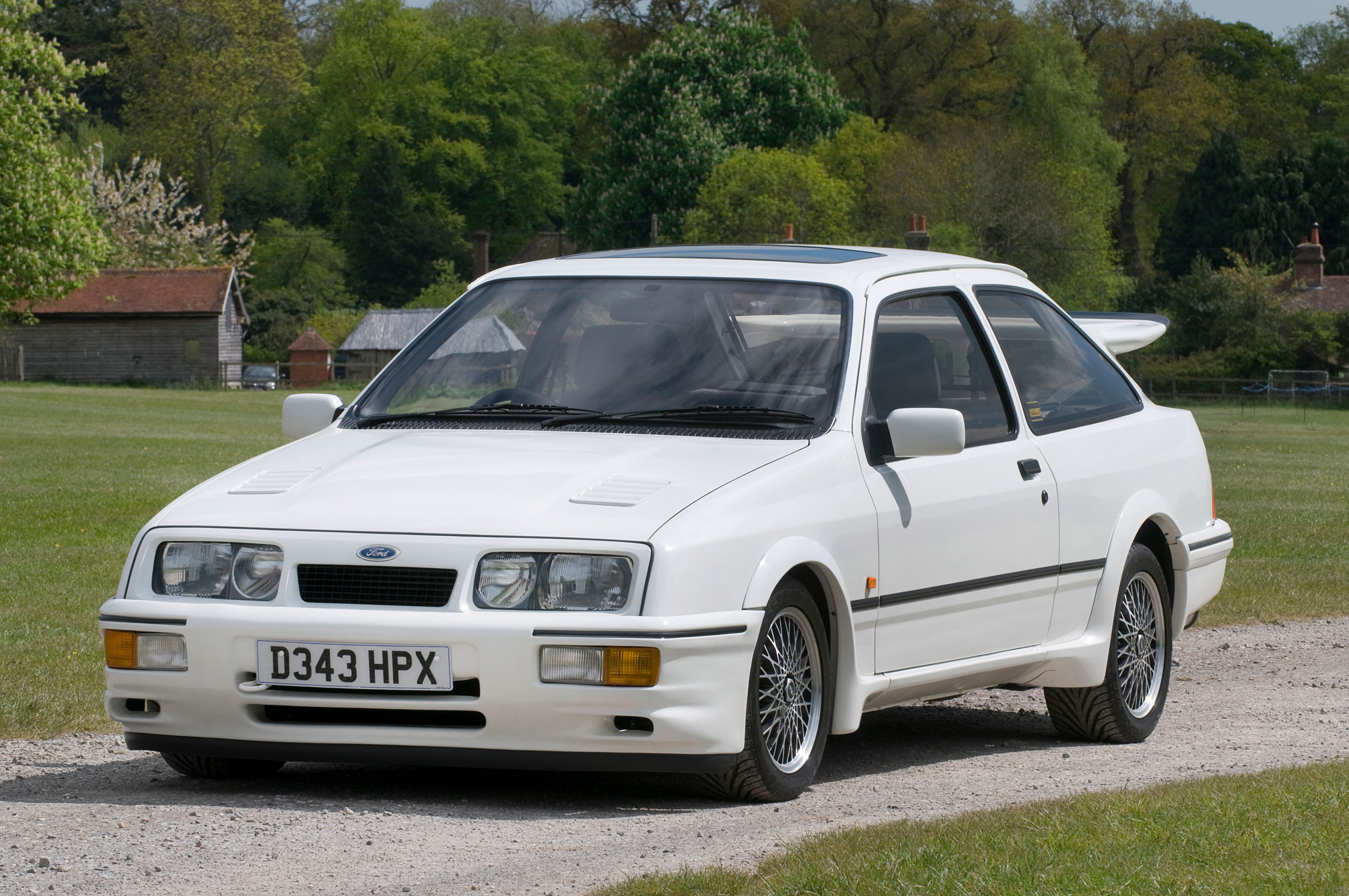 ford sierra rs cosworth the national motor museum trust. Black Bedroom Furniture Sets. Home Design Ideas