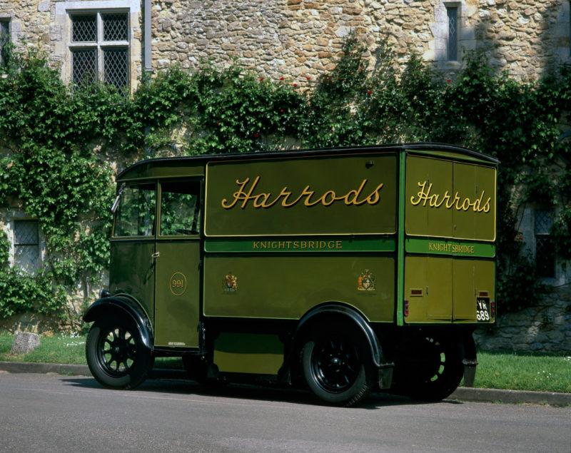 1939 Harrods electric van
