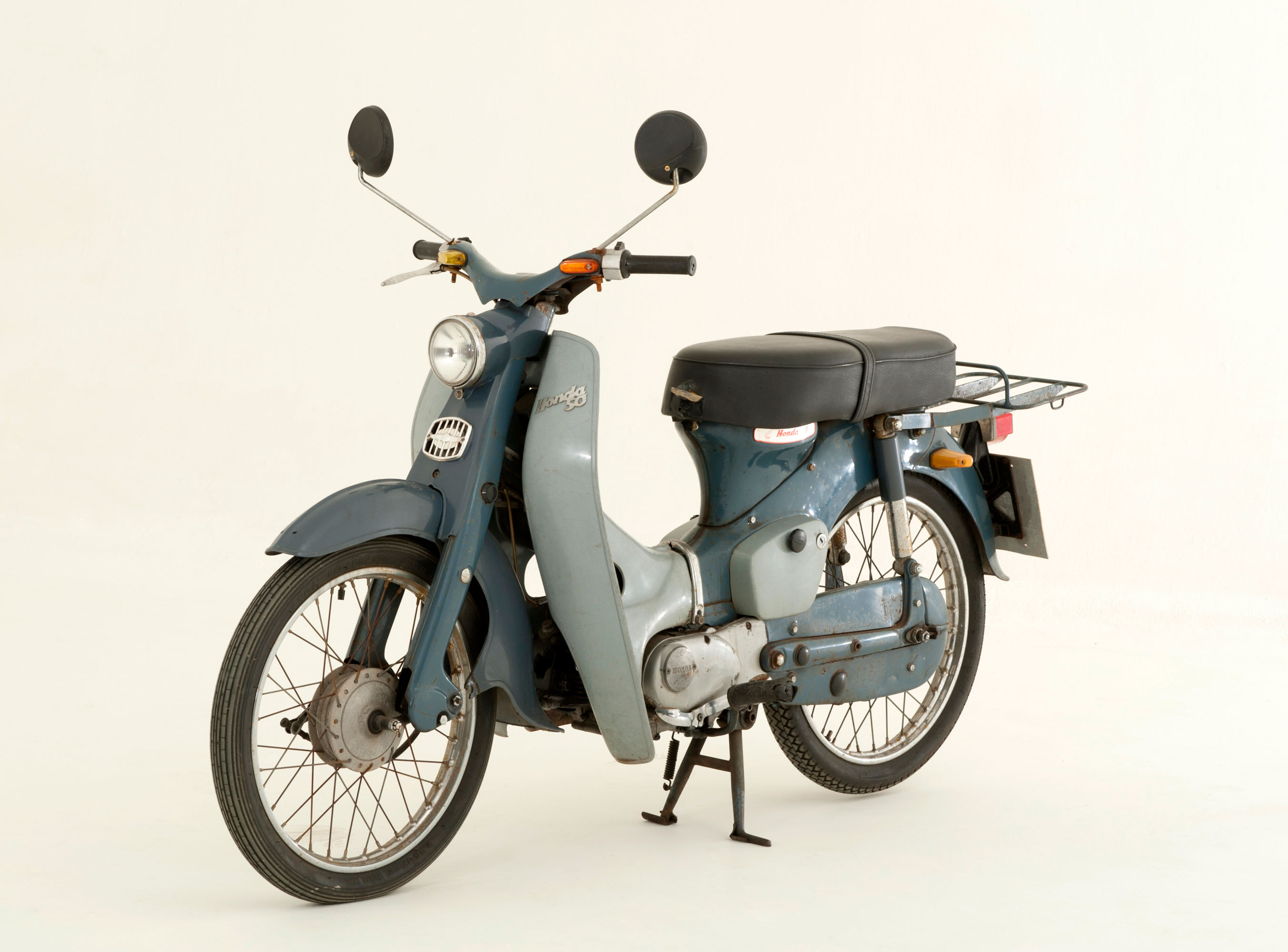 A 1964 Honda C50 Scooter