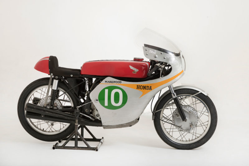 Mike Hailwood's 1961 Honda RC162 motorcycle
