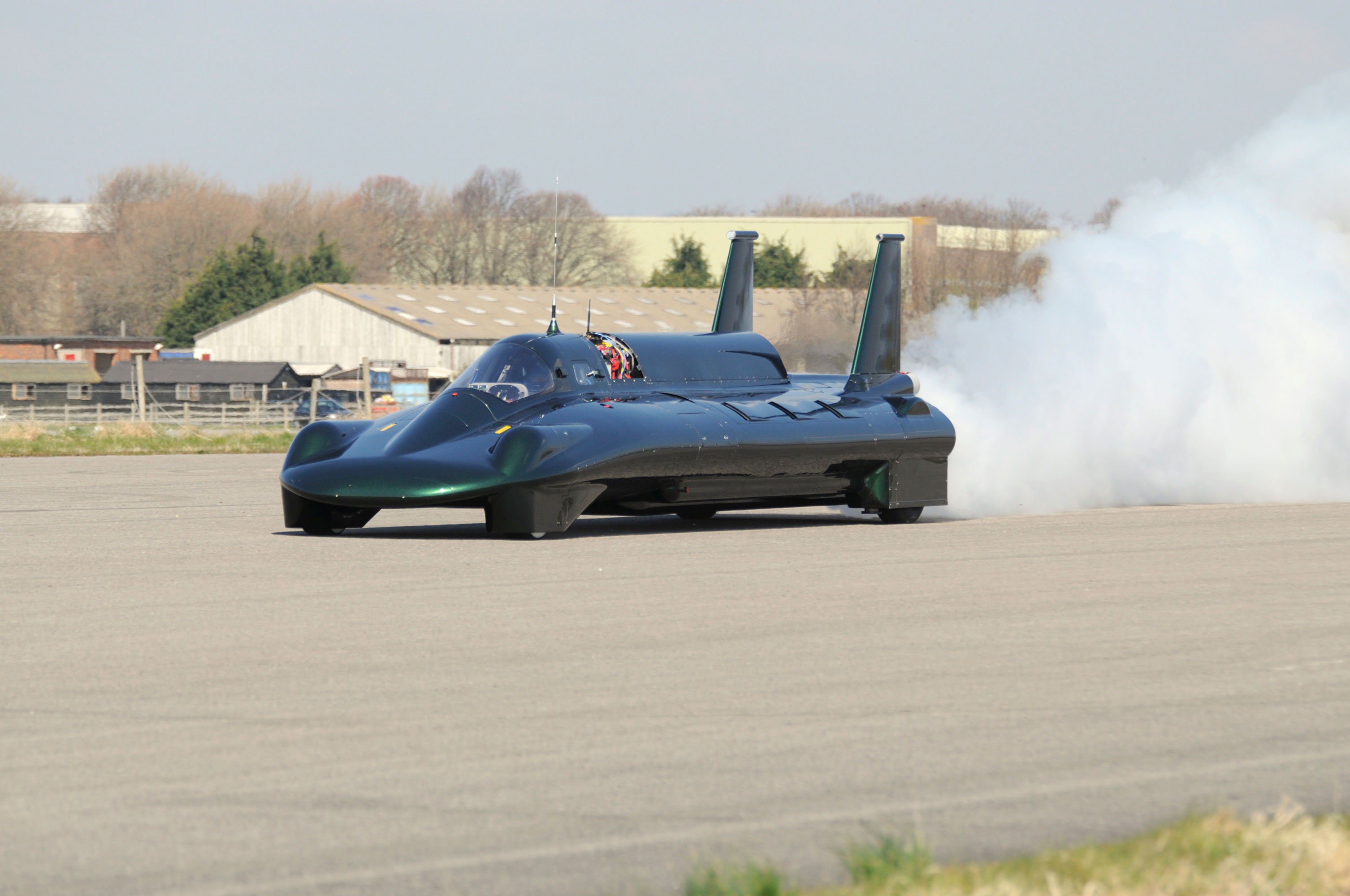 Record-breaking 2008 British Steam Car Inspiration in action