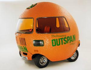 Mini Outspan Orange 1972