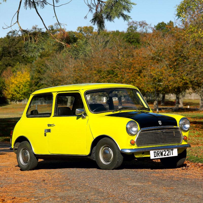Mr Bean's Mini 1979