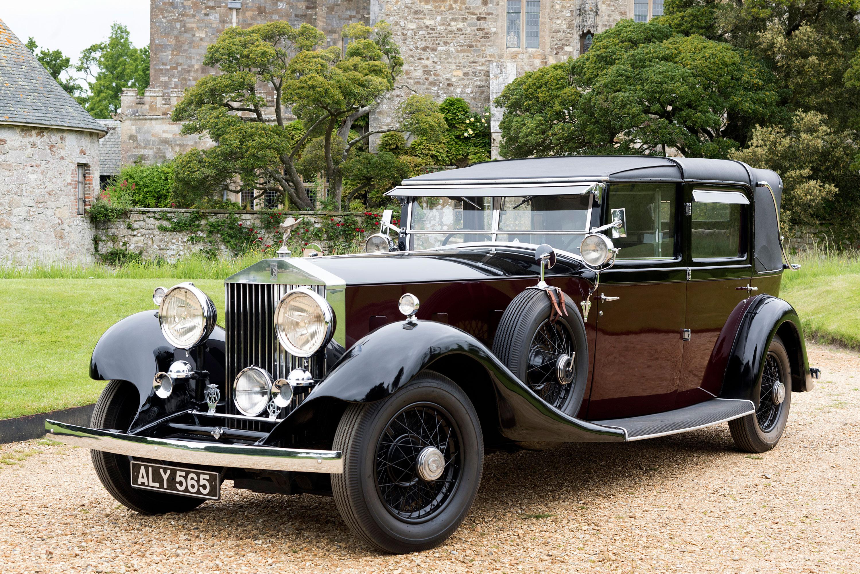 Rolls Royce 40 50 Phantom II 1933