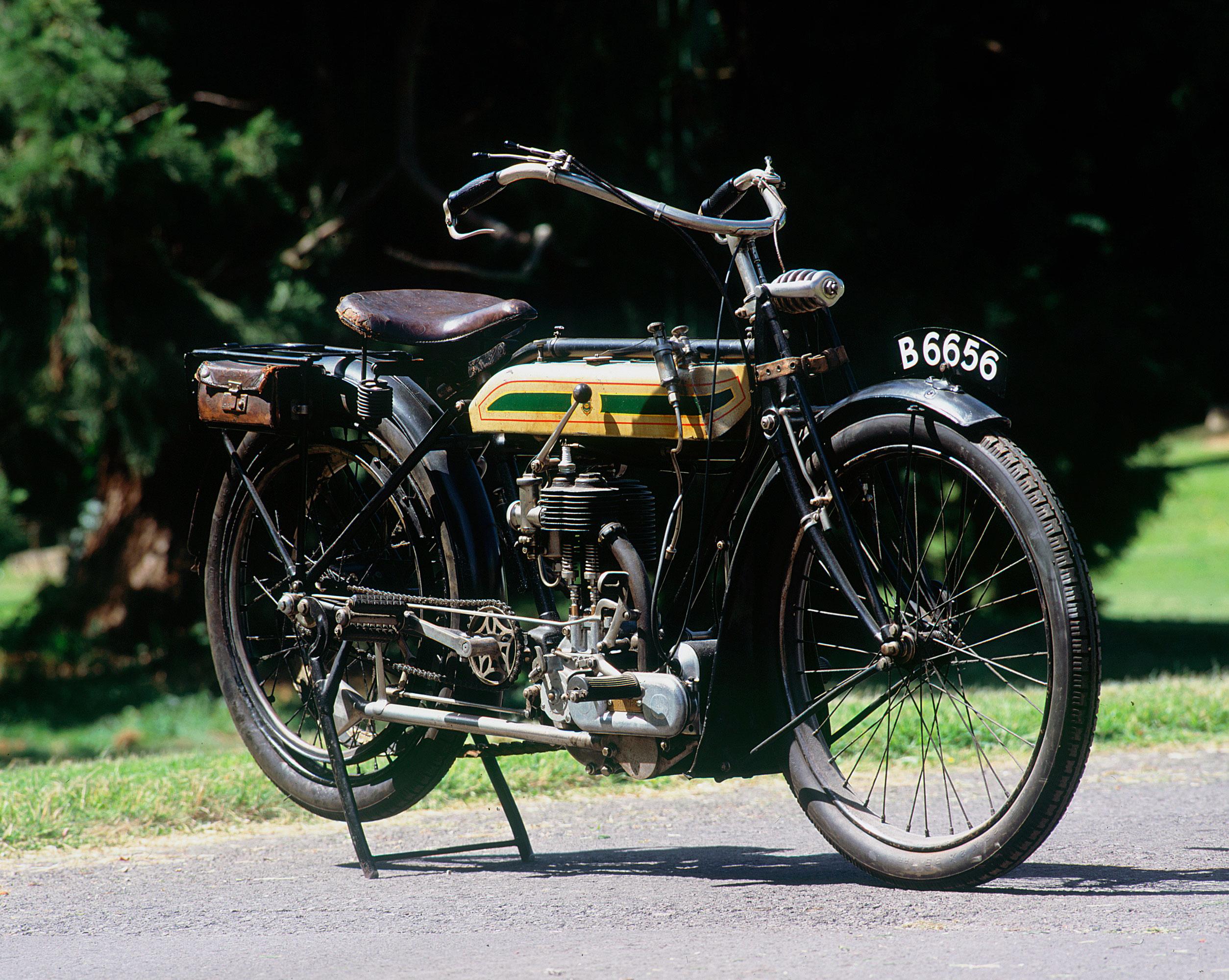 Triumph 4hp 1914