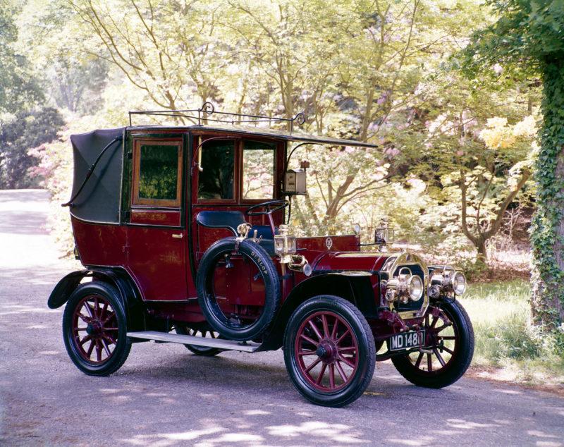 Unic taxi 1908