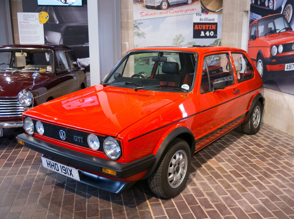 volkswagen golf gti the national motor museum trust. Black Bedroom Furniture Sets. Home Design Ideas