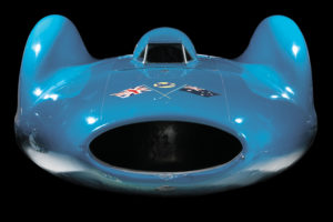 The front of Bluebird CN7