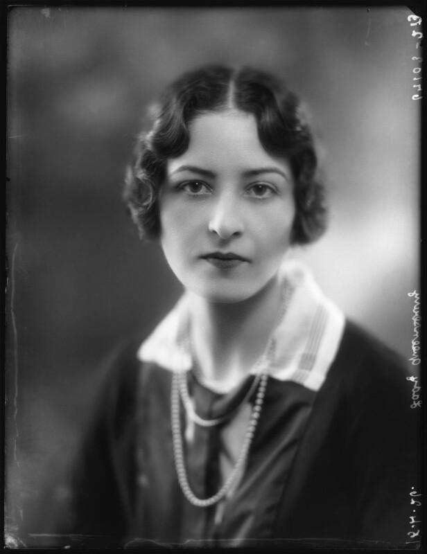 Cathleen Sabine Mann. Copyright National Portrait Gallery, London