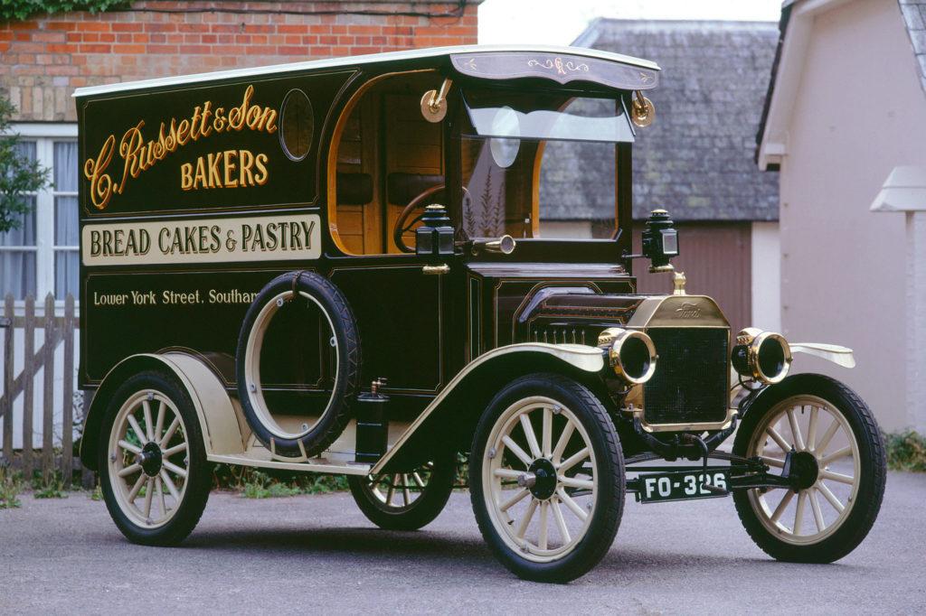 Model T Van 1914