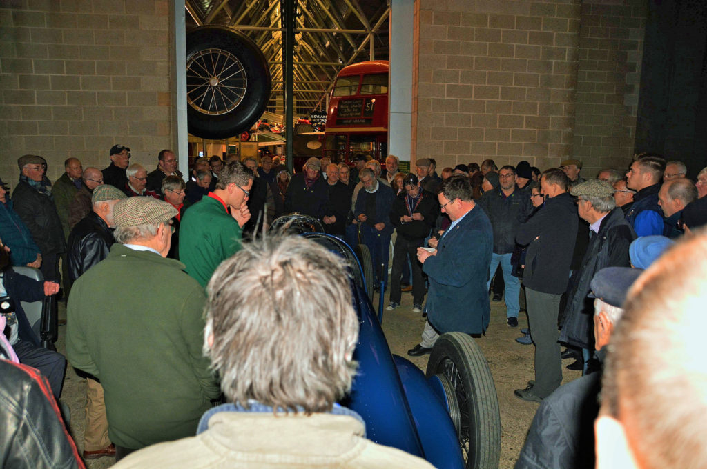 Friends event at the National Motor Museum