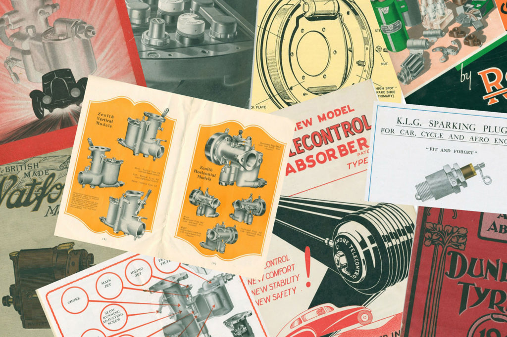 Technical material from the Library collections