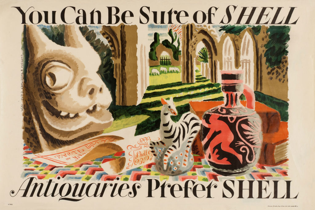 Shell Poster 416 Antiquaries Prefer Shell