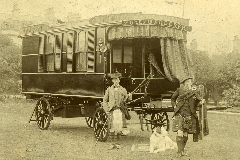 The Wanderer Caravan built in 1885
