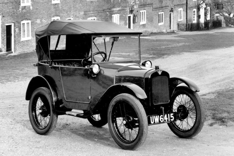 1925 Austin 7 Chummy at Bucklers Hard