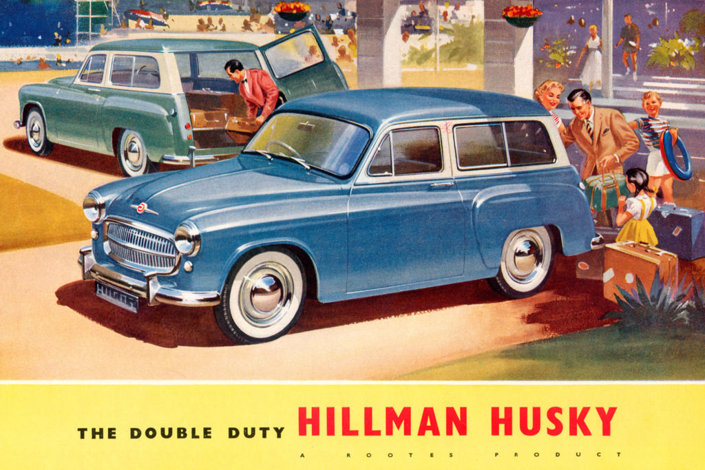 Hillman Husky brochure 1957