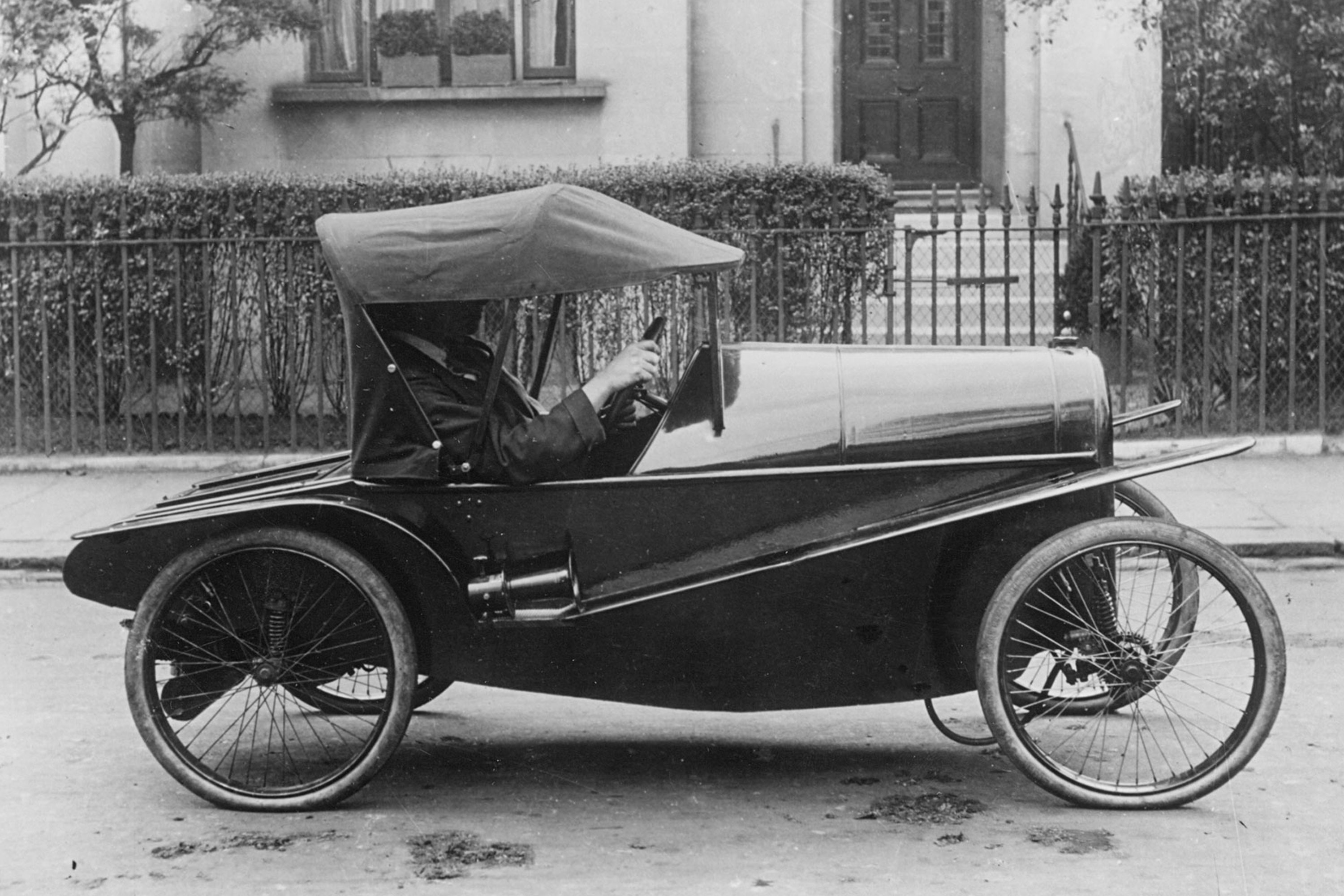 Archive image of Carden cycle car, 1919