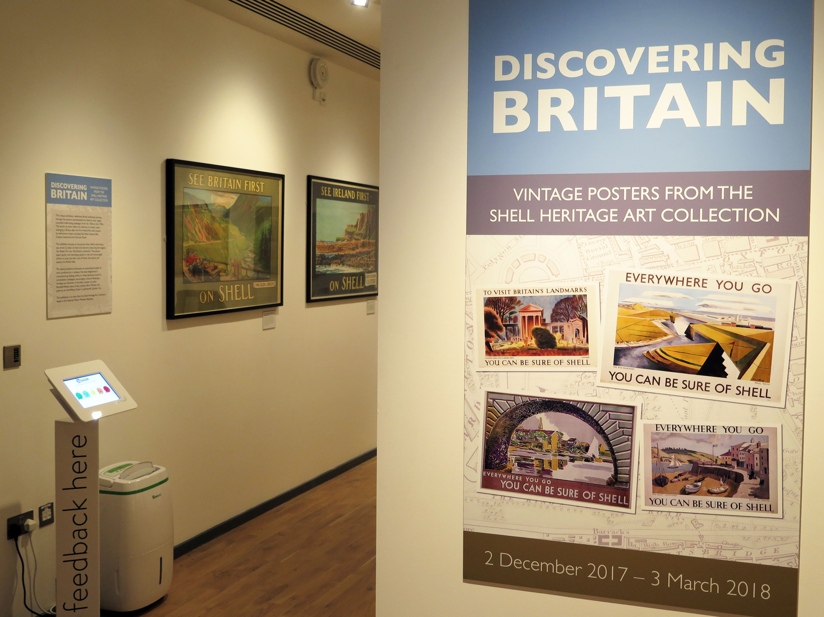North Hertfordshire Museum - Shell Discovering Britain exhibition 2018