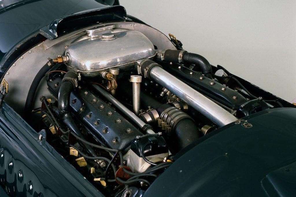 BRM engine close up