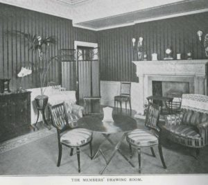Members Drawing Room of the Ladies Automobile Club