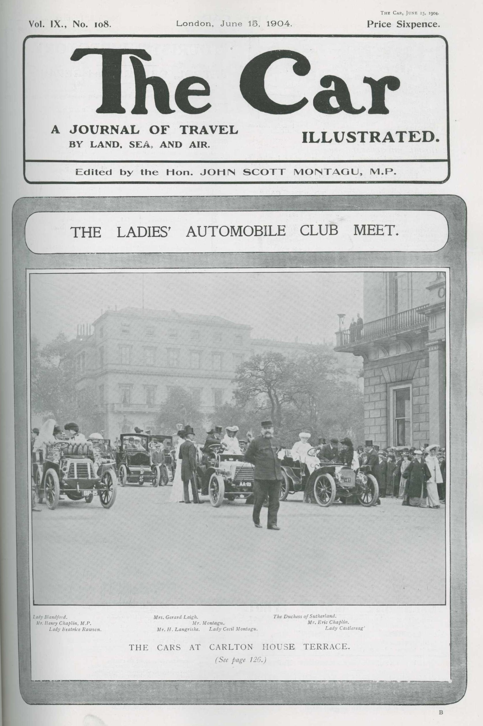 The Car Illustrated front cover