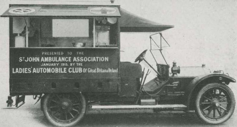 Motor field kitchen vehicle