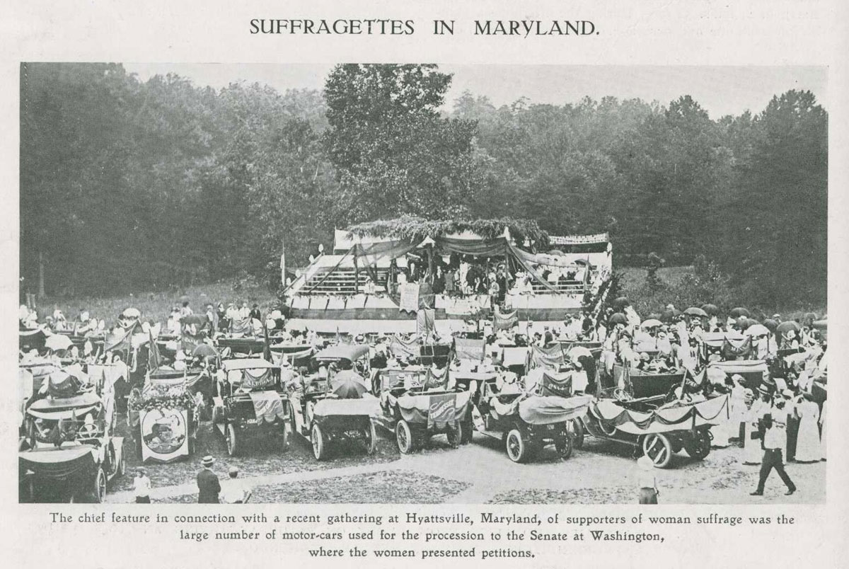Suffragettes in Maryland