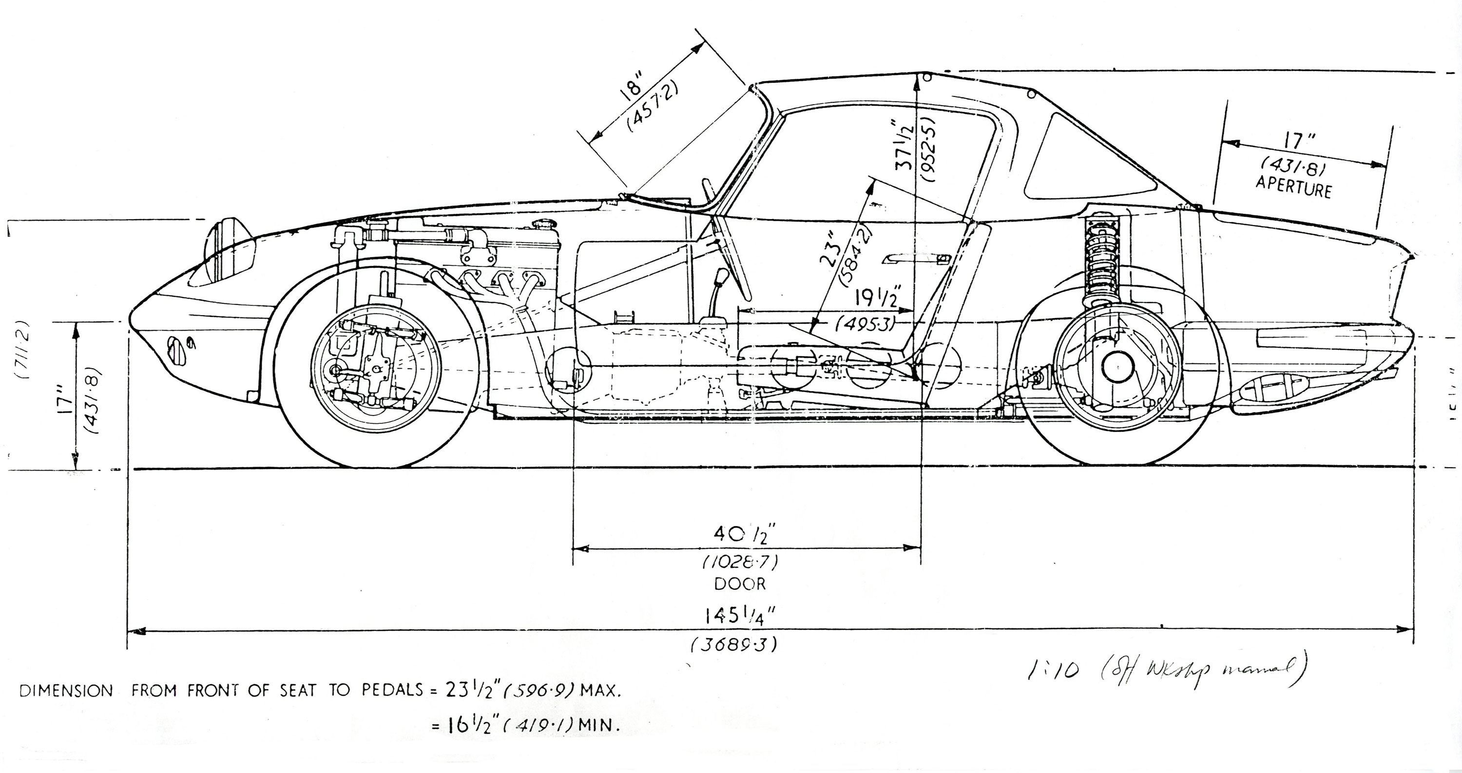 Lotus Elan design sketch