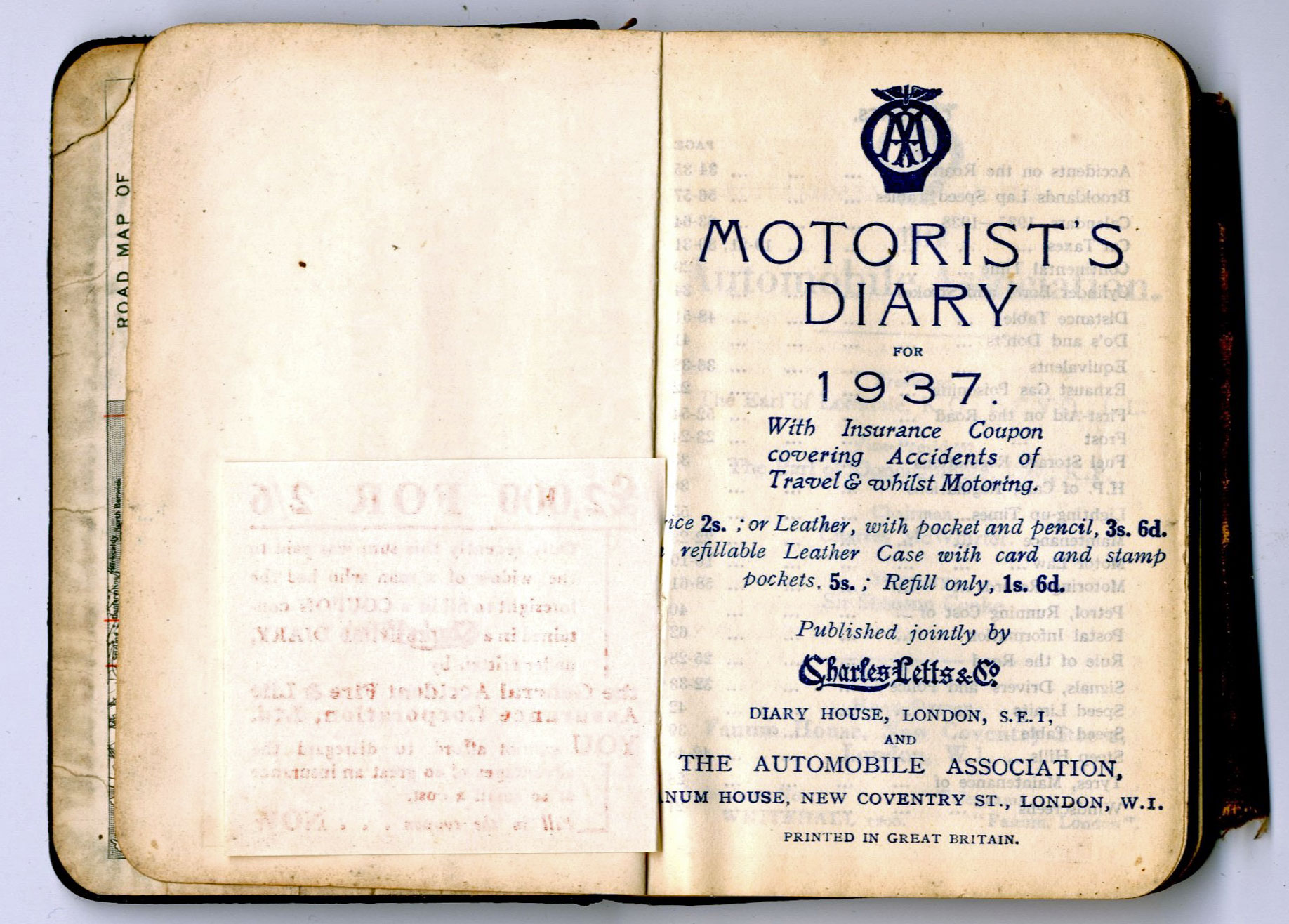 George Thorne Diary 1937