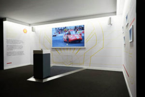 photograph of the Shell exhibition at the Museum of Brands in London