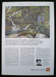 Press advertisement by Shell from Country Life magazine, Oct 19 1967