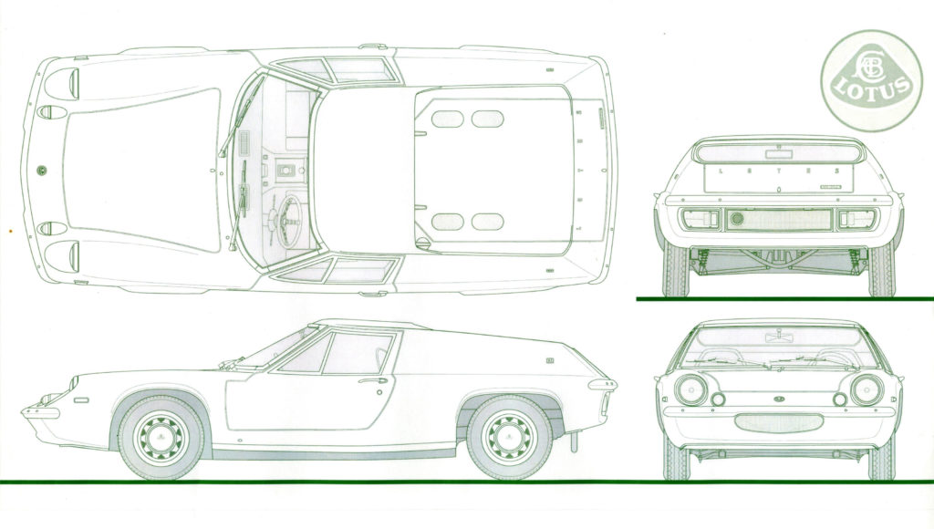 Designs for the Lotus Europa