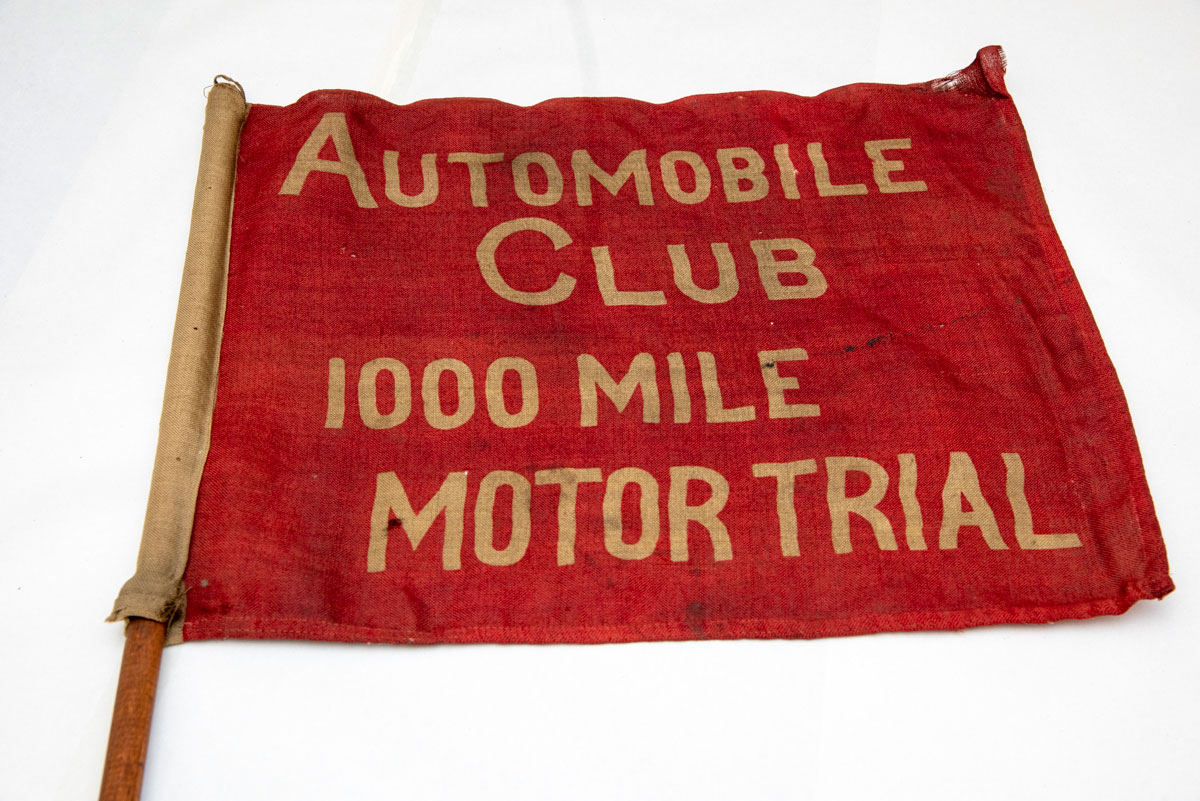Thousand Mile Trial Flag