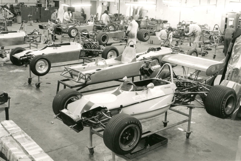 Inside a Lotus car factory