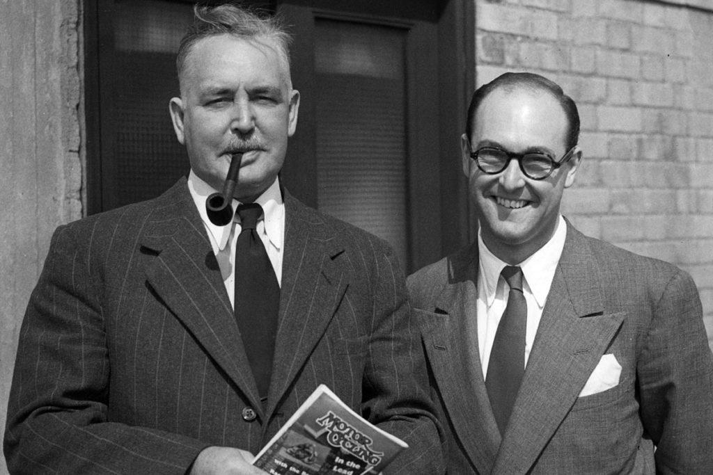 Grahman and Murray Walker
